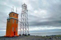 Alter Leuchtturm Stockfoto