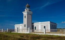 Alter Leuchtturm bei Cabo Rojo Stockfoto