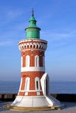 Alter Leuchtturm Pingelturm in Bremerhaven lizenzfreies stockfoto
