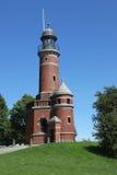 Alter Leuchtturm von Kiel Holtenau Lizenzfreie Stockbilder