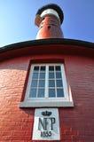 Alter Leuchtturm von Wangerooge, Deutschland Lizenzfreies Stockfoto