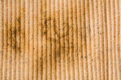 Alter LKW-Körper mit rostiger Haut Stockfotografie