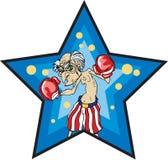 Alter Mann-Boxer Stockbilder