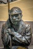 Alter Mann-Skulptur Lizenzfreies Stockfoto