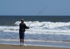 Alter Mann und das Meer Lizenzfreie Stockbilder
