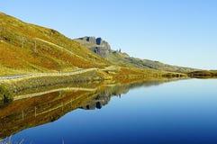 Alter Mann von Storr, Insel von Skye, Schottland Stockbild