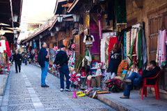 Alter Markt bei Byblos Stockbilder
