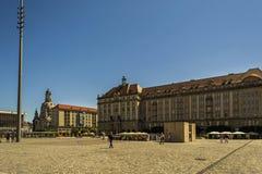 Alter Marktplatz Stockfotografie