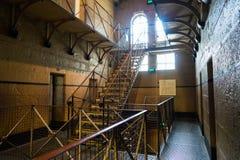 Alter Melbourne-Gaol stockfoto