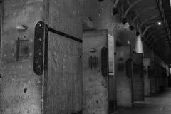 Alter Melbourne-Gaol stockbild