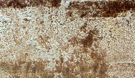 Alter Metalleisenrosthintergrund und -beschaffenheit Lizenzfreies Stockfoto