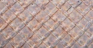 Alter Metallhintergrund Lizenzfreies Stockfoto
