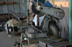 Alter Metallverarbeitungsshop Stockfotografie