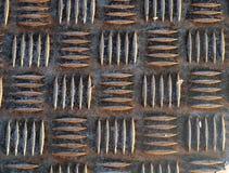 Alter Metallvorstand Stockbilder