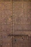 Alter mittelalterlicher Eiseneingang Lizenzfreies Stockfoto