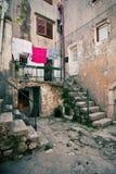 Alter Mittelmeerwinkel lizenzfreie stockfotografie