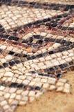 Alter Mosaikfußboden Stockbilder