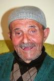 Alter moslemischer Mann Stockfoto