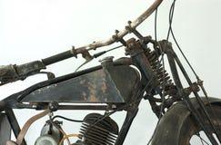 Alter Motorradkrieg II Stockfotografie