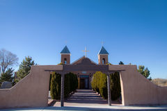 Alter New Mexiko-Katholischer Chiurch Lizenzfreie Stockfotografie