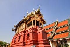 Alter Nord-Thailand-Tempel stockfotos