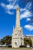 Alter North Point Wasserturm Lizenzfreies Stockbild