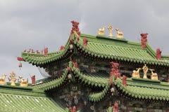 Alter orientalischer Palast stockfoto