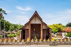 Alter Ort der Verehrung des Tempels berühmt Lizenzfreies Stockbild