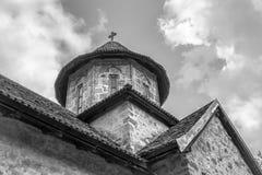 Alter orthodoxer Kirchturm Stockfotos