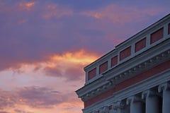 Alter Palast der polnischen Industriemagnaten Potocki in Tulchyn, Ukraine Lizenzfreies Stockfoto