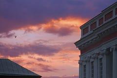 Alter Palast der polnischen Industriemagnaten Potocki in Tulchyn, Ukraine Lizenzfreie Stockfotografie