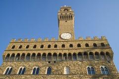 Alter Palast Florenz toscany Italien Lizenzfreies Stockfoto