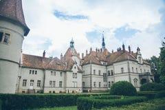 Alter Palast im prak stockfotografie