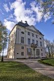 Alter Palast in Ostromecko Stockbild