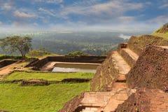 Alter Palast von Sigiriya in Sri Lanka Lizenzfreies Stockfoto