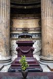 Alter in the Pantheon. An alter in the Pantheon in Rome Italy royalty free stock images