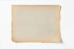 Alter Papierbeschaffenheitshintergrund Lizenzfreie Stockfotografie