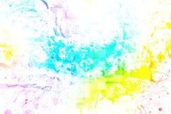 Alter Papierhintergrund mit Mehrfarben Lizenzfreies Stockbild