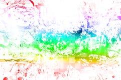 Alter Papierhintergrund mit Mehrfarben Lizenzfreie Stockbilder