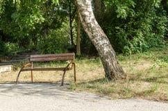 Alter Park Lizenzfreies Stockbild