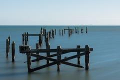 Alter Pier Swanage, Insel von Purbeck Lizenzfreies Stockfoto