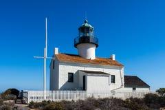 Alter Point Loma-Leuchtturm Stockfotos