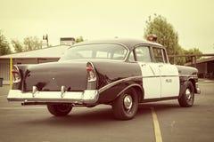 Alter Polizeiwagen Stockbild