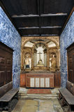Alter of Porto Church, Portugal Royalty Free Stock Photo
