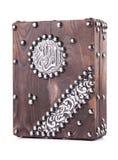 Alter Quran-Kasten lizenzfreie stockfotos