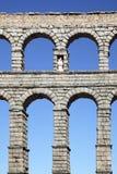 Alter römischer Aquädukt Lizenzfreies Stockbild