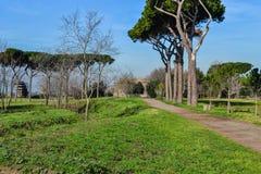 Alter römischer Park lizenzfreie stockbilder