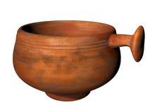 Alter römischer Schöpflöffel vektor abbildung