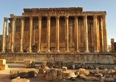 Alter römischer Tempel Lizenzfreie Stockfotos