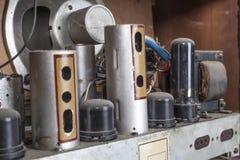 Alter Radio der Weinlese Stockbilder